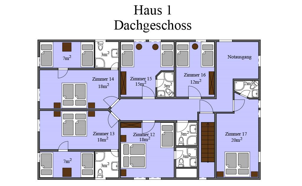 Grundriss Haus 01 DG