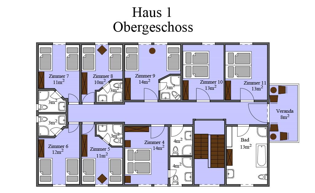 Grundriss Haus 01 OG